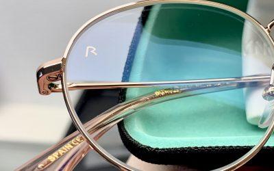 Blaulichtfilter auf Brillengläsern