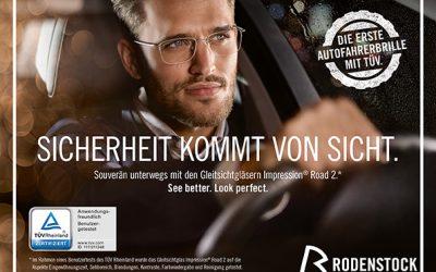 Sicher Sehen am Steuer mit Rodenstock ROAD Brillengläsern